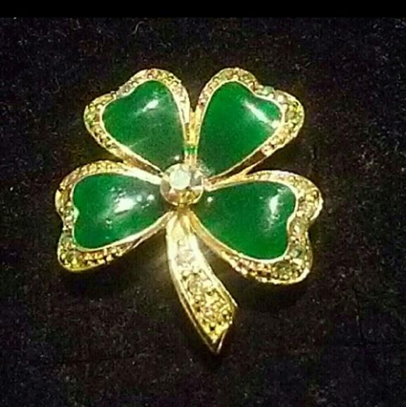 72cc44e7c2c Jewelry   Stpatricks Day Special Shamrock Lapel Pin   Poshmark